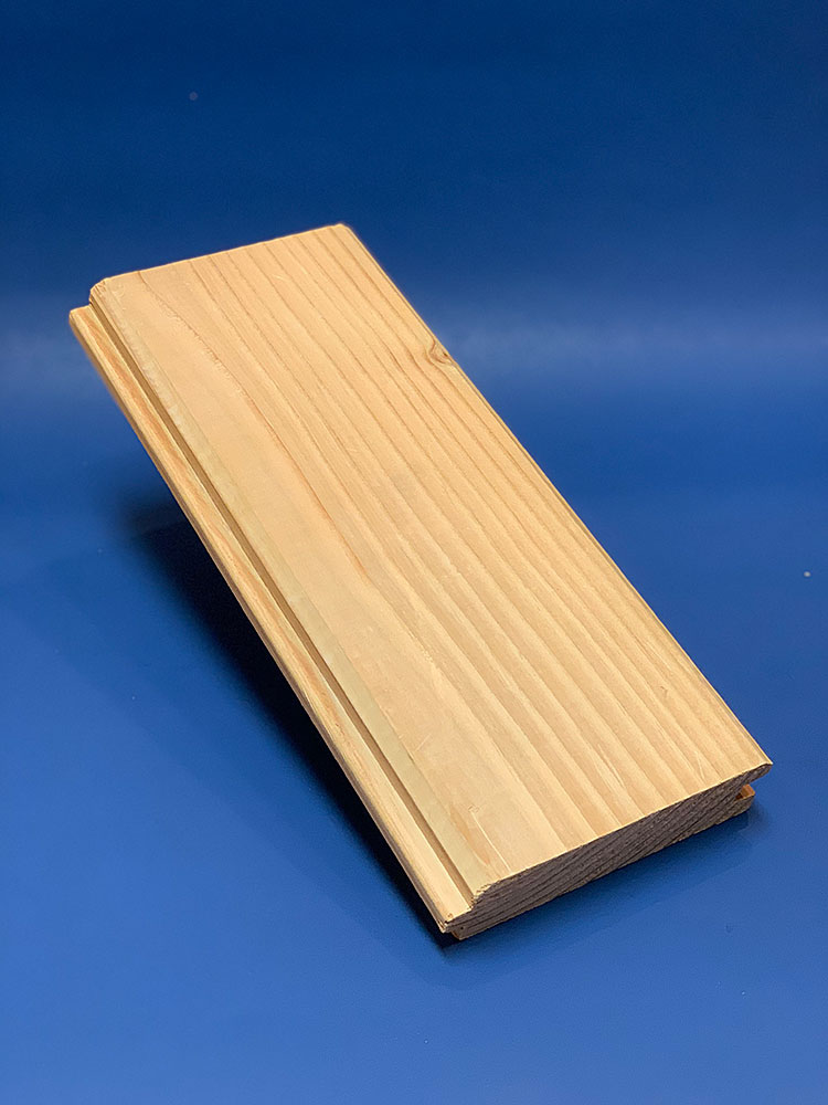 2x6 Hem Fir Center Match Edge V 1 Side